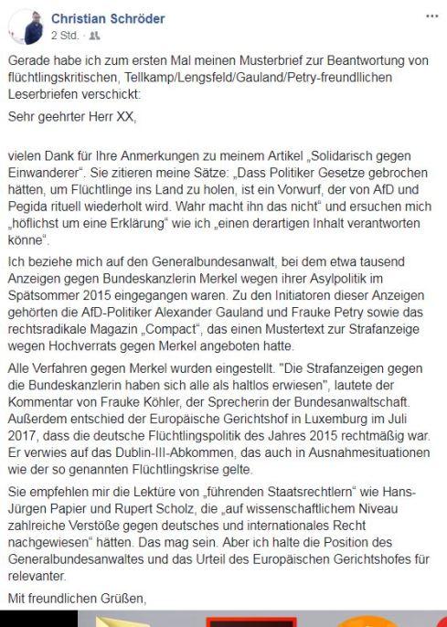 Schröder Tagesspiegel