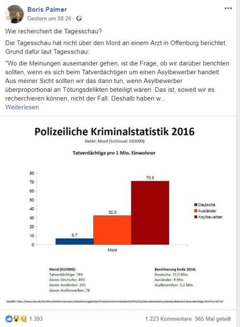 Palmer Kriminalstatistik